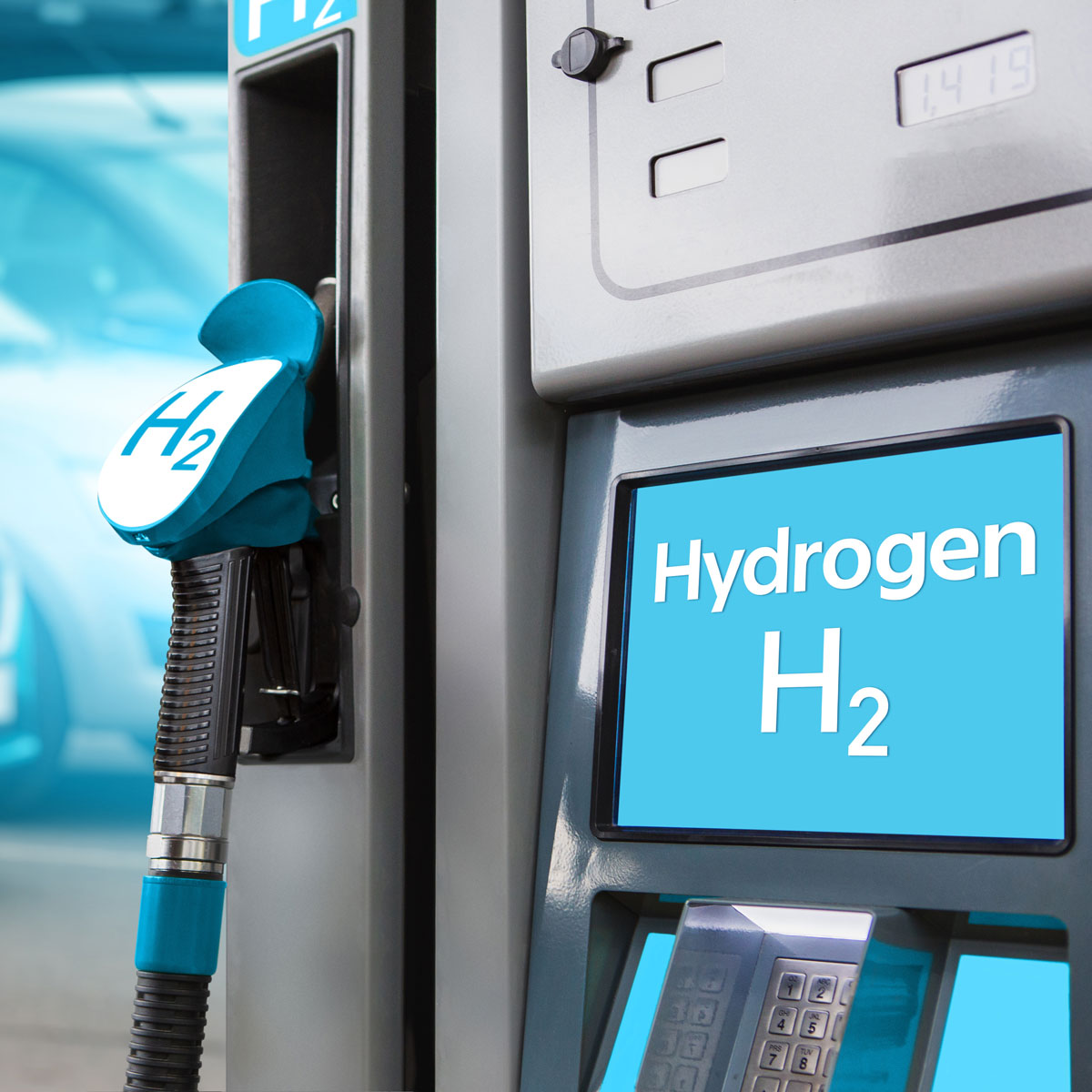 hydrogen charging stock
